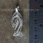 Филигранная подвеска в виде рыбы. Тунис, современная работа