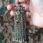 Афганские височные подвески.  Пакистан, Вазиристан, пуштуны племени Вазири (Kuch