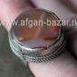 Бедуинский перстень с сердоликом. Йемен или Саудовская Аравия, 20 век