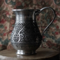 Медный стакан ручной работы. Турция, Газиантеп (Юго-восточная Анатолия)