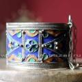 Марокканский браслет с перегородчатой эмалью