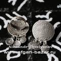 Кольцо из ювелирного сплава c копиями старинных османских монет