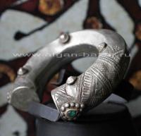 Традиционный афганский браслет. Афганистан или северо-западный Пакистан (Нуриста