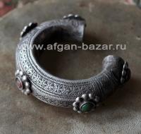 Традиционный афганский браслет. Западный Афганистан, пуштуны племени Шинвари, пе