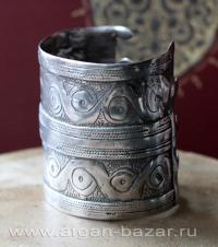 """Старинный туркменский браслет """"Билезик"""""""