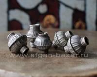 Лот из пяти старых бусин ручной работы. Афганистан, племена Кучи, 20-й век