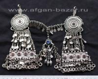 Уникальное афганское украшение для волос