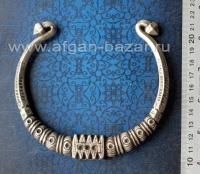 """Гривна """"Ожей"""" - племенное украшение. Юго-восточный Пакистан, Синд, вторая полови"""
