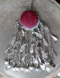 Племенная подвеска-амулет, деталь костюма