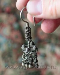 Афганская племенная сережка (без пары)