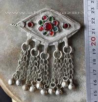 Заколка для волос - племенные украшения Кучи (Kuchi Tribal Jewelry)