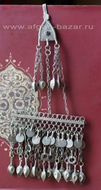 Пуштунская накосная подвеска с заколкой