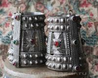 Пара браслетов племени Мангал. Пакистан, вторая половина 20-го века