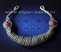 """Гривна """"Гер"""" - редкое племенное украшение.  Афганистан, провинция Нуристан (Каф"""
