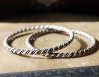 Берберский витой браслет -  Berber Bangle Bracelet