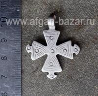 Старинный эфиопский нательный крест