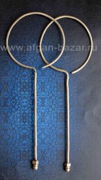 Гуджарские племенные серьги - височные подвески. Пакистан или северо-запад Индии