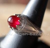 Винтажный иранский мужской перстень с сердоликом