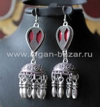 Серьги в казахском стиле
