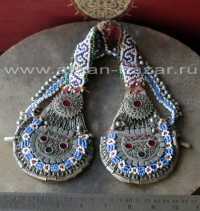 Афганское народное украшение для головы, племенные украшения Кучи - Tribal Kuchi
