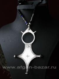 """Туарегский амулет """"Agades cross"""".  Мали или Нигер, 20-й век"""