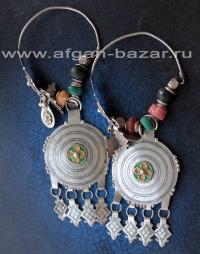 Берберские височные украшения для волос. Марокко, Анти-Атлас, Тизнит, 20-й век -
