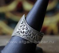 Старый берберский перстень.  Марокко, берберы, 20-й век - Vintage Silver Morocca
