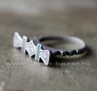Берберский перстень-талисман.  Юго-западная Сахара, Мавритания или Марокко, берб