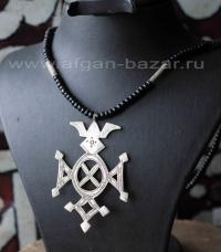 """Туарегский амулет в виде креста """"Tchin Tabaraden"""""""
