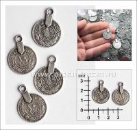 фурнитура для бижутерии монеты