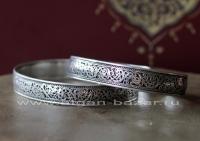 Непальский браслет с филигранью