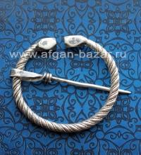 """Традиционная тунисская фибула-застежка для одежды """"Khelala"""". Тунис,  берберы, пе"""