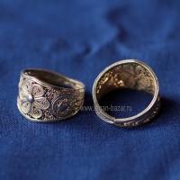 Тунисское кольцо с филигранью. Тунис, современная работа