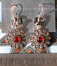 Серьги в османском стиле