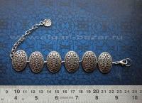 Турецкий браслет из ювелирного сплава, украшения Трайбл