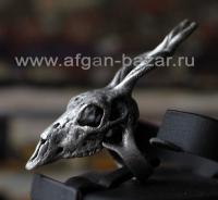 Кольцо в виде черепа антилопы