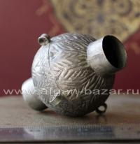 Старая афганская бусина-коннектор ручной работы. Афганистан или Пакистан, племен