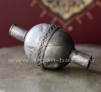 Старая туркменская бусина ручной работы - Old Turkmen Tribal Jewelry Bead