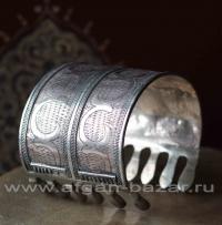 Туркменский браслет. Северный Афганистан, туркмены племени Эрсари