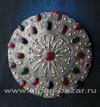 """Подвеска в виде туркменского украшения """"Гульяка"""" - Turkmen Jewelry Pendant - wom"""