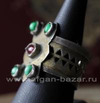 Туркменский племенной перстень. Туркестан (территория современной Туркмении), ту