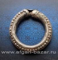 Старый бедуинский браслет. Эфиопия, Йемен или Саудовская Аравия, 20-й век