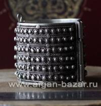 Старый бедуинский браслет.  Йемен, 20-й век.