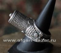 """Йеменский серебряный перстень """"Yemeni Tower Ring"""""""