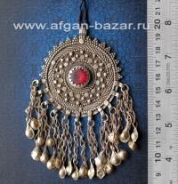 Подвеска-медальон, центральная часть ожерелья. Йемен или Саудовская Аравия, 20-й