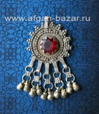 Подвеска-амулет, часть пояса или ожерелья. Йемен или Саудовская Аравия, 20-й век