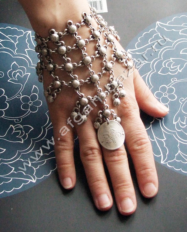 Индийские ножные браслеты своими руками 39