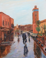 Александр Емельянов. Rainy Marrakesh (Марокко, дождливый день в Марракеше)