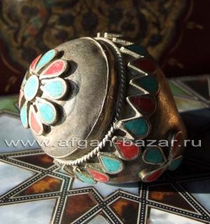 Афганские ювелирные украшения в стиле Трайбл