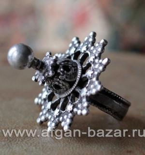 Уникальный редкий афганский перстень. Северо-западный Пакистан, долина реки Сват